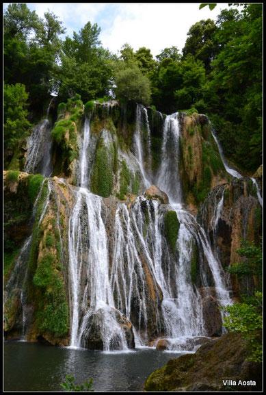 cascade de Glandieu, Bugey