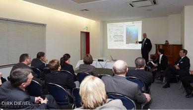 Moderation des Workshops Nachhaltigkeits-Megatrends und Chancen für KMU. Foto: Dirk Dießel