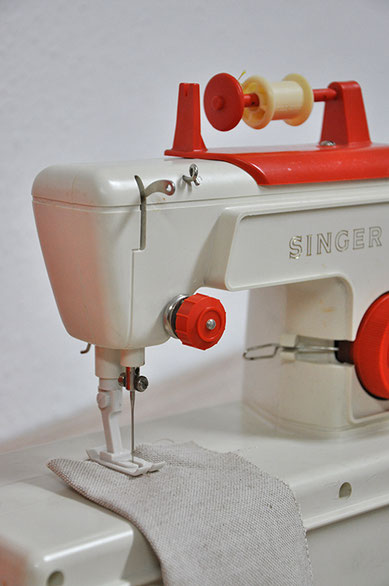 Funkenflug Design Nähschule ganz vernaht Nähschule alte Singer Nähmaschine