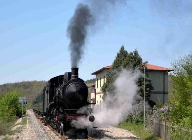 シエナ蒸気機関車の旅 トレーノナトゥーラ