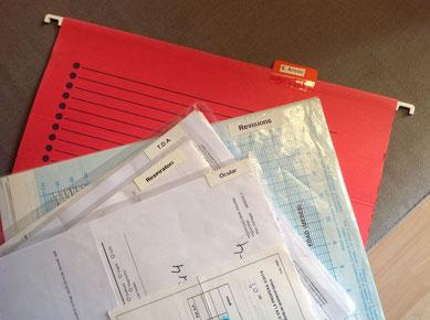 sub-carpetas por especialidades médicas dentro de la carpeta de cada miembro de la familia - www.AorganiZarte.com