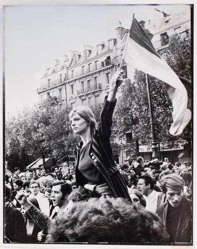 Expos photo de l'été - Icônes de Mai 68, les images ont une histoire - la BNF
