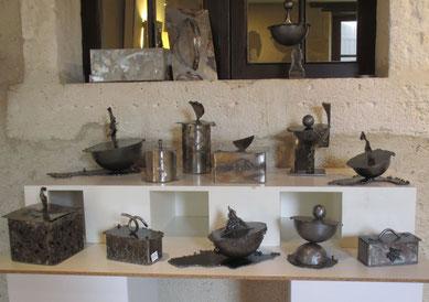 boîtes acier inoxydable et acier, bijoux, alimentaire, bonbon, coton