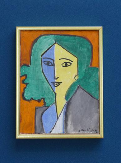 Henri Matisse (1869-1954) : portrait de Lydia Delectorskaya