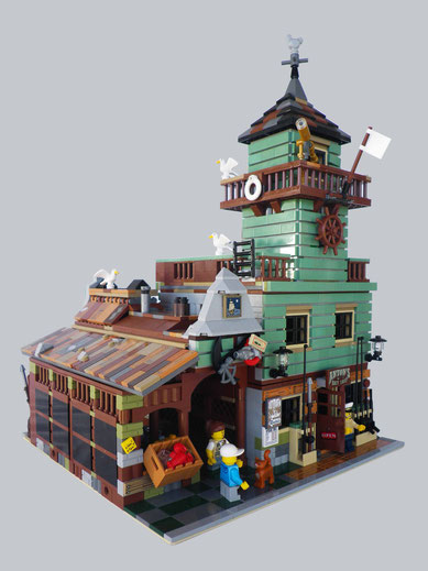 Home bricker co unlimited for Old fishing store lego