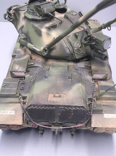 Beachte 165mm Granatwerfer als Ersatz für die Kampfwagenkanone