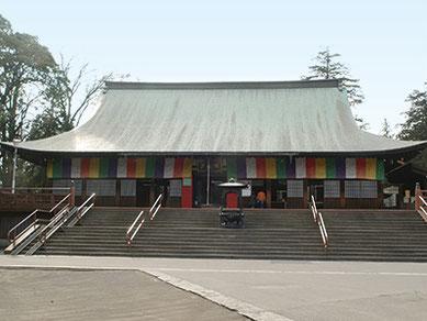 川越大師の名で有名な、大黒天をまつる喜多院。