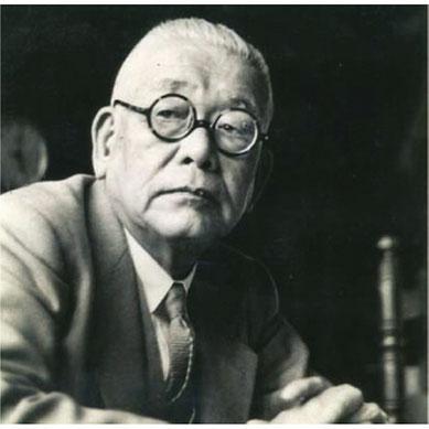 美食家としても知られる、20世紀を代表する日本の芸術家、北大路魯山人。