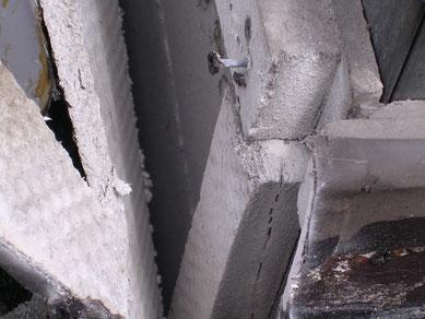 asbesthaltige Leichtbauplatte