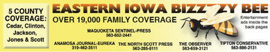 Click for more information on advertising in the Eastern Iowa Bizzzzy Bee