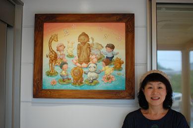 保育園 壁画 童画
