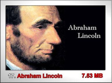 17 Abraham Lincoln