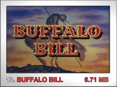 13 Buffalo Bill