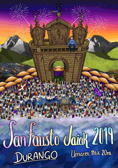 Fiestas de San Fausto en Durango Jaiak