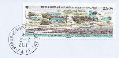 timbre représentant la base