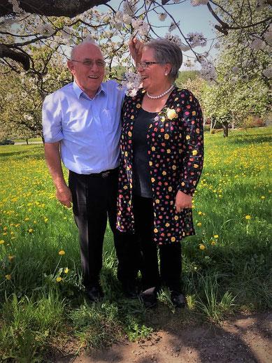 Beatrice wurde in Lampenberg für 40 Jahre aktives Singen im Chor geehrt.