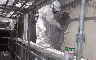 川島町の外壁,解体費用