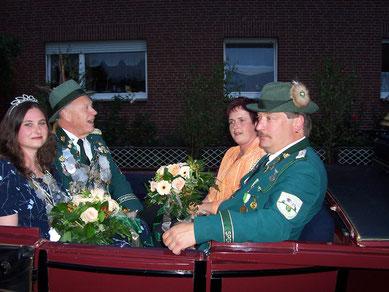 2007 Heinrich Nietfeld und Nicole Rebber
