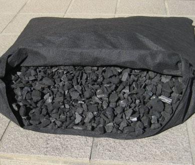 床下湿気対策や土壌改良用の竹炭を販売:近江通商株式会社