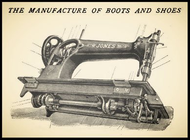 The manufacture of boots and shoes – by  F.Y. Golding  (1902)