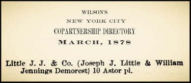 1878 Little J. J. & Co.