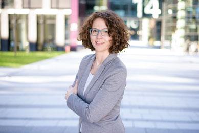 Nicole Weißkopf DeafIT Team PR & Marketing ©Foto by StefanWeberPhotoArt