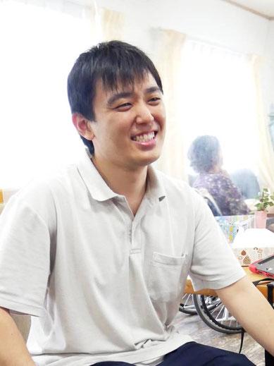 介護職員の石川さん