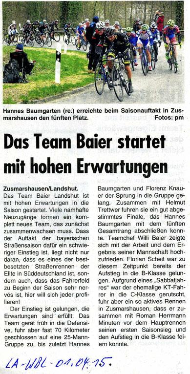 Quelle: Landshuter Wochenblatt 01.04.2015