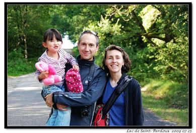 Lucie, Anne et Pascal BRUNEAU