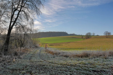 Winter im Haunetal