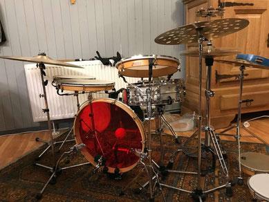 Patrick Fischer - Sonor Frame Drum Travel Kit