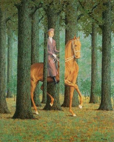 Препятствие пустоты - известные картины Рене Магритта