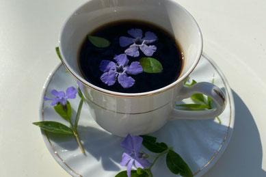 花びんに行けられた色とりどり満開のチューリップ。ピンク、オレンジ、ラベンダー色の花びら。