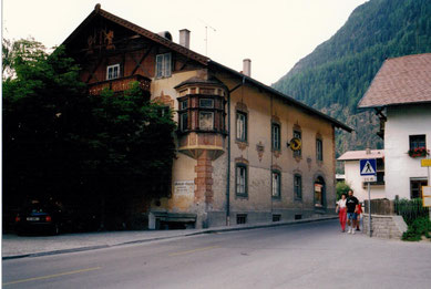 Im Blasinghaus  war unsere Bäckerei im Keller untergebracht (1992)
