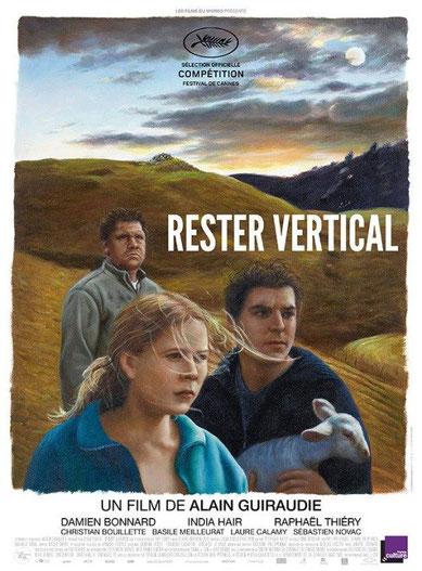 """Affiche du film """"Rester Vertical"""""""