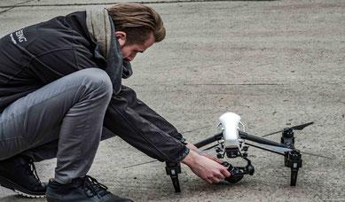 Inspire, Drohne, Drohnenpilot, Flightseeing, Drohnenstart