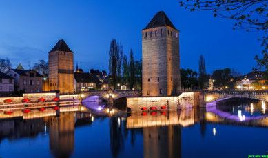 Ponte de Couverts (die gedeckten Brücken in Petit France)