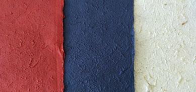 Kozo-Papier einfarbig