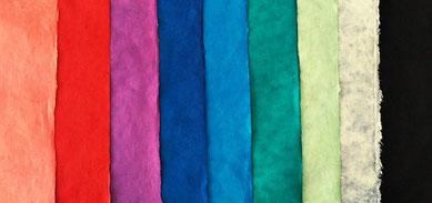 Daphnepapier einfarbig