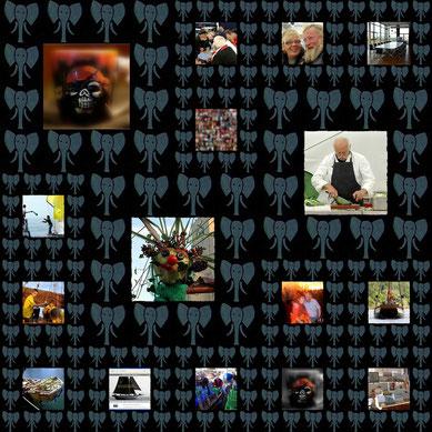 Mosaik-Projektbilder