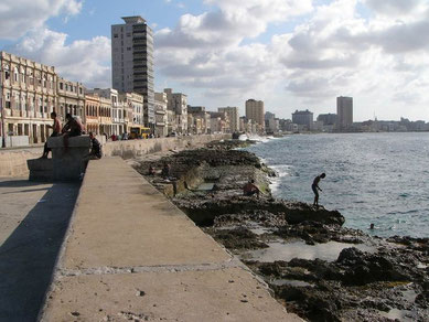 Malecon - Strandpromenade in Havanna