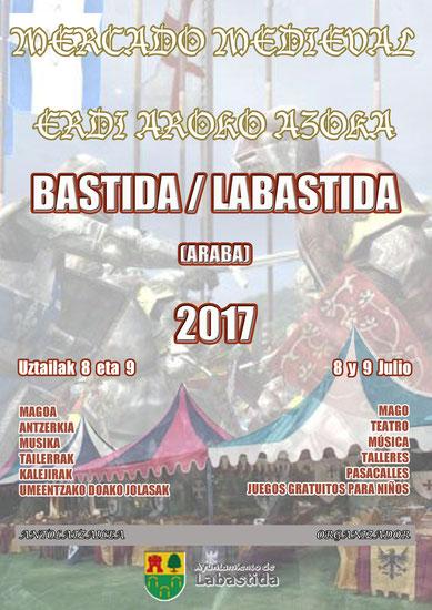 Programa del Mercado Medieval en Labastida