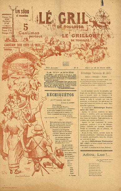 Lé Gril de Toulouso - parution de 1896