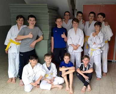 Judo-AG 2018/19