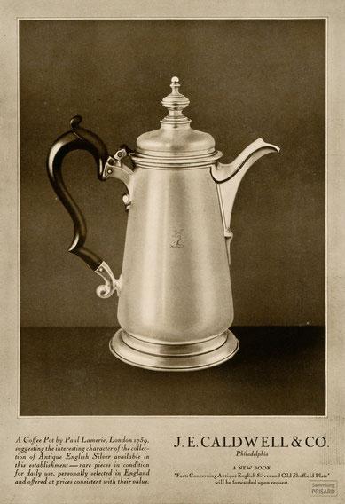 RES.20.003 Kaffeekanne von Paul Lamerie, 1739 / © Sammlung PRISARD