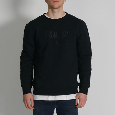 Iconic pangu Sweater - schwarz