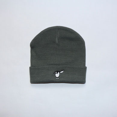 Salute Pinguin Beanie - grau - Mütze
