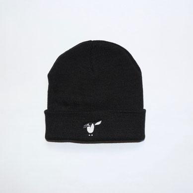 Salute Pinguin Beanie - schwarz - Mütze