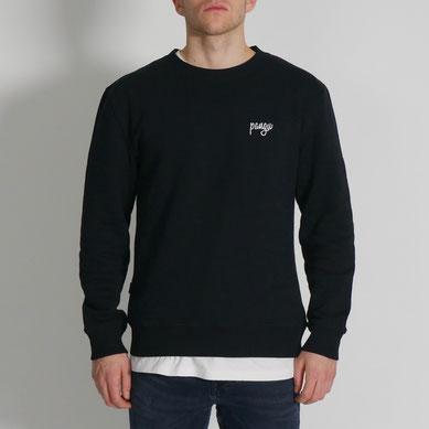 Classic pangu Sweater - schwarz