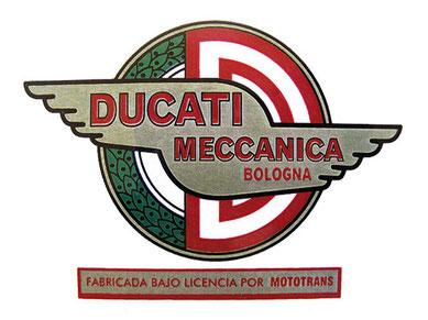 Logotipo de la marca bajo licencia Mototrans